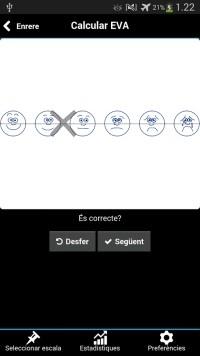Ejemplo de valoración Visual Analog Scale